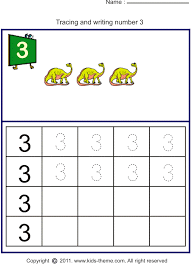Number 3 Worksheet Free Worksheets Library | Download and Print ...