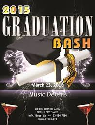 Graduation Templates Word Ms Word Graduation Party Flyer Template Word Excel Templates