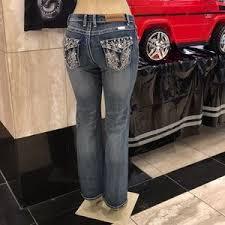 Platinum Plush Jeans Size Chart Ladies Pistol Pocket Bling Denim Jeans Sizes 5 15 Boutique