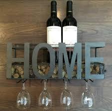 wall mounted metal wine rack. Wall Mounted Metal Wine Rack 4 Long Stem Glass Holder \u0026 Cork Storage-in Storage Holders Racks From Home Garden On Aliexpress.com | Alibaba Group -