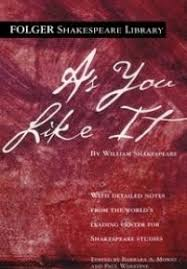as you like it shakespeare library cover of the library edition of as you like it