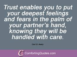 Quotes About Trust And Love In Relationships