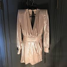 Designer Shoulder Pads House Of Zhivago Designer Shoulder Pad Dress Never