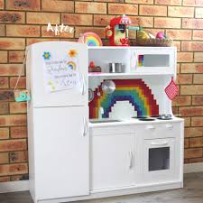 Play Kitchen Before And After A Kmart Wooden Play Kitchen Hack Plays