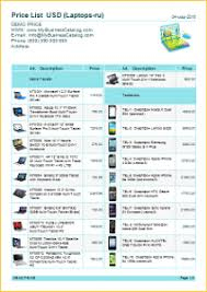 How To Make A Price List Template App To Create A Price List With