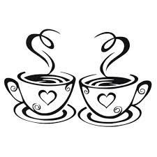 New arrival beautiful design coffee cups cafe tea wall stickers art vinyl decal kitchen restaurant pub decor 32762219253