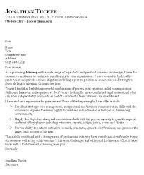 Attorney Cover Letter Cover Letter Litigation Attorney Resume