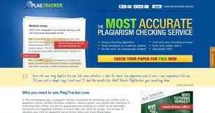 tech in the classroom plagtracker this is a service that  this is a service that teachers can use to check any student assignment for plagiarism