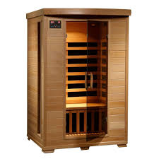 2 person infrared sauna. Beautiful Infrared Radiant Sauna 2Person Hemlock Infrared With 6 Carbon Heaters Intended 2 Person E
