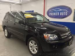 2006 Used Toyota Highlander Hybrid HYBRID LIMITED at Premier Auto ...