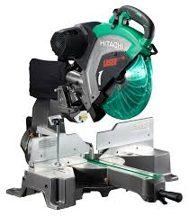 hitachi miter saw. hitachi c12rsh2 305mm slide compound mitre saw with laser guide miter i