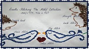 Doodle Stitching The Motif Collection 400 Easy Embroidery Designs Doodle Stitching Another Little Crafty Creation