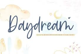 Download and install free handwritten fonts of the best quality from free fonts and use on your own personal and business related design purposes. Daydream Font By Balpirick Creative Fabrica In 2020 Modern Script Font Handwritten Fonts Best Free Fonts