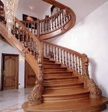 Building a Wooden Staircase Interior