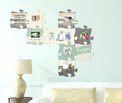 puzzle pieces wall decor puzzle piece your family and friends together with this wall art room puzzle pieces wall decor
