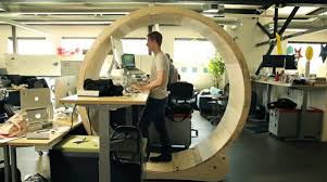 crazy office chairs. healthy office designs hamsterwheelinstructables crazy chairs