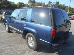 Blue Chevrolet Tahoe In Florida For Sale ▷ Used Cars On Buysellsearch