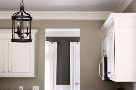 image of what color should i paint my kitchen with gray cabinets