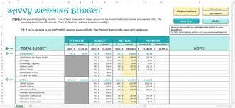 Wedding Budget Spreadsheet Wedding Budget In Excel Wedding