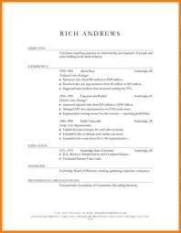Traditional Resume Examples Traditional Resumemplate Example Of Writing Format 24x24 Formats 14