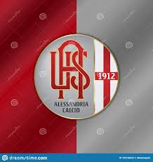 Alessandria Calcio emblem editorial stock image. Illustration of emblem -  182745629