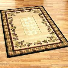 idea lodge area rugs for rustic cabin large size of or