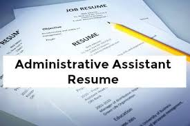 Best Resume For Administrative Assistant Administrative Assistant Resume Template
