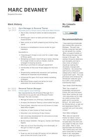 Personal Trainer Resume Beautiful Personal Trainer Resume Sample
