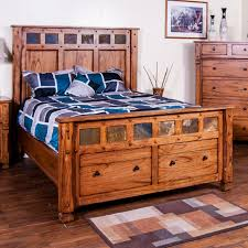 Sedona Queen Bed w/ Storage by Sunny Designs