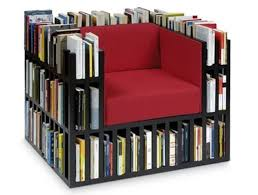 Multifunctional furniture designs to add extra space to your dwelling |  Designbuzz : Design ideas and  Library ChairCreative BookshelvesReading ...