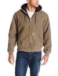 Carhartt Men's Quilt Flannel Lined Sandstone Active Jacket ... & Carhartt Men's Quilt Flannel Lined Sandstone Active Jacket Adamdwight.com