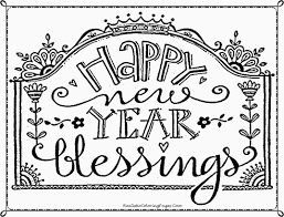 Small Picture Happy New Year Coloring Pages Coloring Home