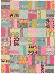 Easy quilts to sew in a weekend - Stitch This! The Martingale Blog & Super quick patchwork quilt from Easy Weekend Quilts Adamdwight.com