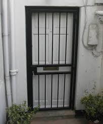 front door gateLondon Gates  Grilles singlefrontdoorbargate  London Gates