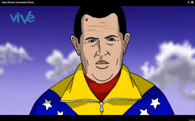 Image result for CHAVEZ CARTOON