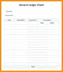 General Ledger Template Printable Free Printable Journal Sheets Accounting Entries Ledger Template