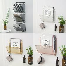 iron newspaper rack holder