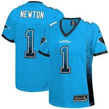 Panthers Cam Blue Newton Jersey