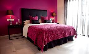 Collection in Black And Pink Bedroom Ideas Black And Pink Bedroom Designs  House Decor