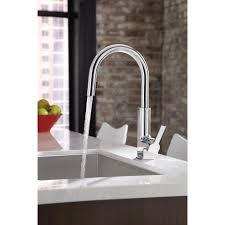 Moen Arbor Kitchen Faucet Moen Sto Single Handle Pull Down Kitchen Faucet Reviews Wayfair