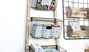 wall mounted wire baskets wall mounted wire basket shelves by wire storage baskets wall mounted