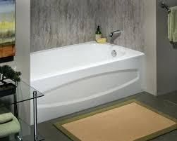 american standard soaking tub enamel steel bathtub with right hand in white 60 x 32
