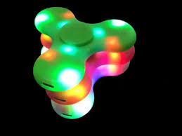 Fidget Spinner With Led Lights And Speaker Led Fidget Spinner With Bluetooth Speaker Handspinner Fingertips Led Rainbow Light Luminous Hand Spinners Fidget Finger Toys Fast Shipping Bird Finger