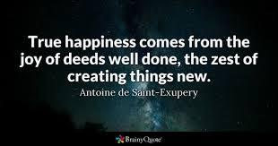 Joy Quotes Custom True Happiness Quotes BrainyQuote