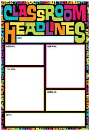Date Chart For Classroom Alphabet Soup Classroom Headlines Smart Chart Top Notch