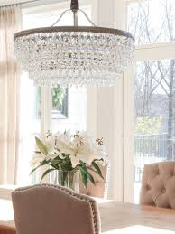 crystal dining room chandelier. Simple Dining If You Want A Beautiful Drop Down Chandelier This Is It The Pottery Barn  Clarissa Crystal Drop Absolutely Gorgeous Inside Dining Room Chandelier N