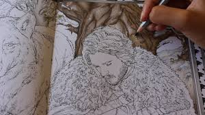 Game Of Thrones Coloring Book Finished Pages Color Bros