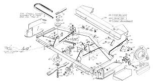Leaf spring assembly diagram woods rm59k 1 rearmount finish mower main frame assembly assembly of leaf