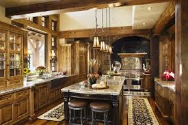 Of Rustic Kitchens Rustic Kitchen Cabinets Designs Decor Crave