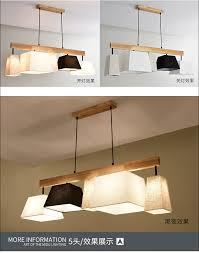 Holz Led Anhänger Lichter Für Esszimmer Zwei Holz Runde Glanz Holz Küche Leuchte Küche Hängen Lampe